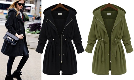Hooded Drawstring Jackets: One $39 or Two $69