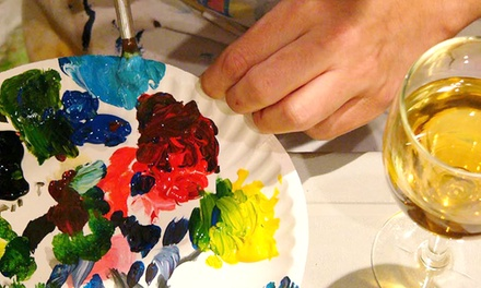 $19.99 for Two-Hour Painting Class for One at any Paint and Pour Off-Site Event ($35 Value)