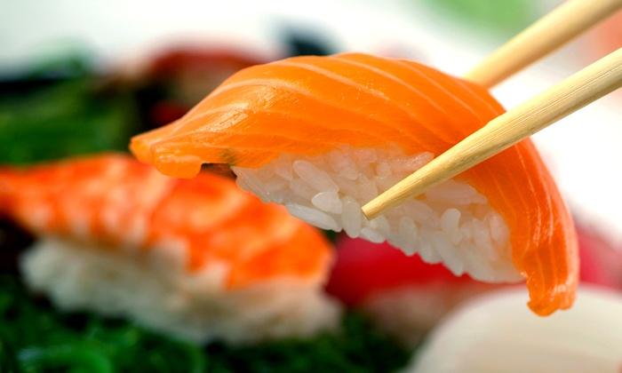 Oishi Japanese Fusion - University of Texas - Austin: Japanese Cuisine and Sushi at Oishi Japanese Fusion (37% Off). Two Options Available.
