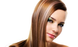 Bliss Hair Studio: Haircut Package with Optional Partial or Full Highlights at Bliss Hair Studio (Up to 61% Off)