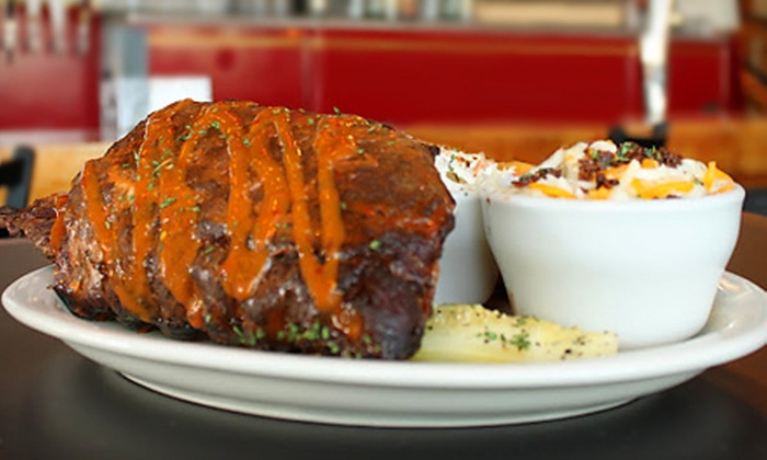Halligan Bar & Grill - Multiple Locations: American Fare at Halligan Bar & Grill (Up to 55% Off). Two Options Available.