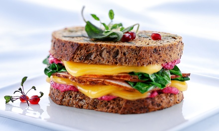 $9 for $16 Worth of Gourmet Grilled-Cheese Sandwiches at Melthouse Bistro