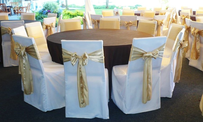 Platinum Designs - Federal Way: $50 for $100 Worth of Chair-Cover and Specialty-Linen Rentals from Platinum Designs