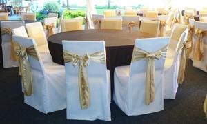 Platinum Designs: $50 for $100 Worth of Chair-Cover and Specialty-Linen Rentals from Platinum Designs
