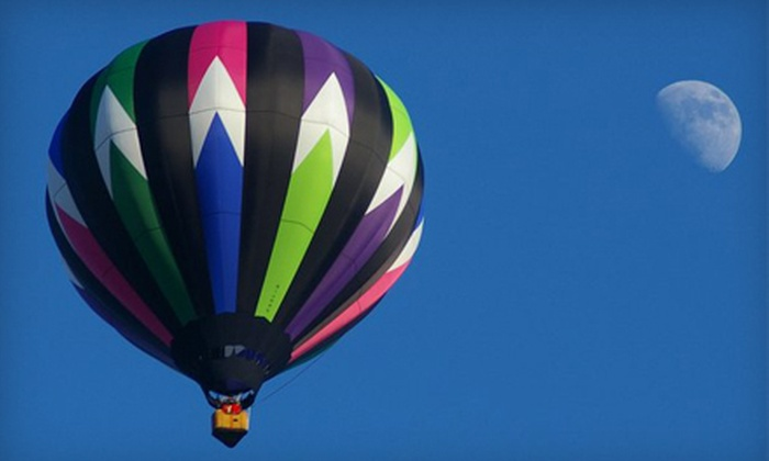 Infinity & Beyond - Salem: $239 for a Semi-Private Hot Air Balloon Ride Plus Champagne Picnic for Two at Infinity & Beyond in Salem ($400 Value)