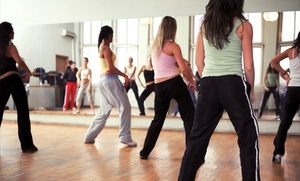"S.w.e.a.t. Studio: Four Weeks of Unlimited Zumba Classes at S.W.E.A.T  - ""Latin Dance Fitness Studio"" (65% Off)"