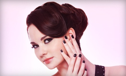 One or Two No-Chip Manicures at Divine Creations Boutique & Spa (Up to 53% Off)
