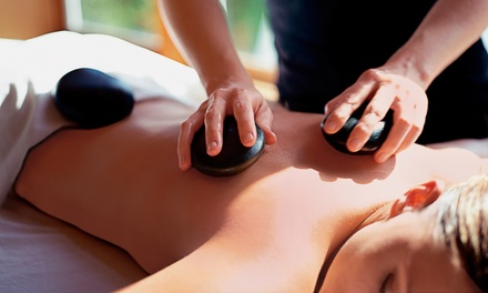 60- or 90-Minute Hot-Stone or Aromatherapy Massage at Green Leaf Massage Center (Up to 61% Off)