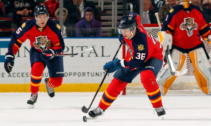 Florida Panthers - BB&T Center: NHL Game with Parking Pass, Panther Gift, and Post-Game Slap Shot (Up to 31% Off). Three Games Available.