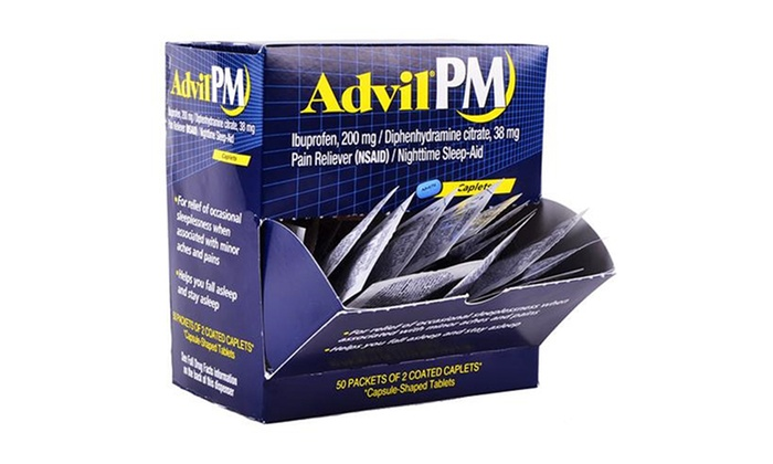Advil packets