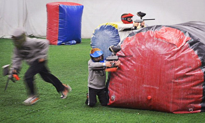 Gatsplat - Lewisville: Indoor Air-Conditioned Paintball Outing with Equipment for One, Two, Four, or Six at Gatsplat (Up to 52% Off)