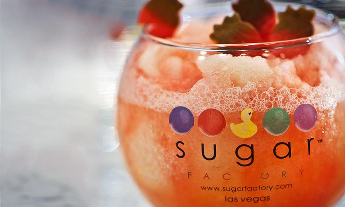 Sugar Factory at Town Square - Town Square: American Cuisine, Drinks, and Sweets at Sugar Factory at Town Square (Up to 50% Off). Four Options Available.