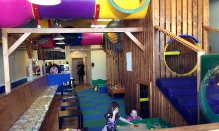 Five Playtime Visits for One, Two, or Three Children at Play A Latte (53% Off)
