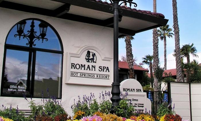 roman spa hot springs resort groupon. Black Bedroom Furniture Sets. Home Design Ideas