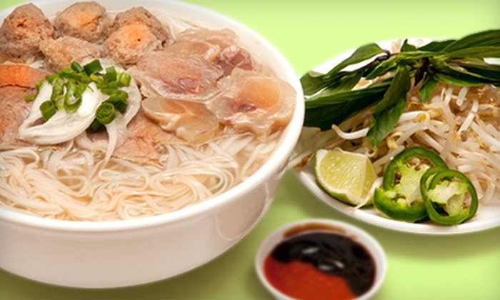 Le's Phở Tái - Shoreline: $5.50 for Two Groupons, Each Good for $10 Worth of Vietnamese Cuisine at Le's Phở Tái ($20 Total Value)
