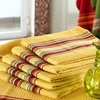 $9.99 for a Set of Six Waffle Kitchen Towels