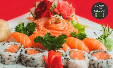 Sequência livre para 1 pessoa com sushi, sashimi, gunkan, temaki e mais no Gokan Sushi Lounge – Moinhos