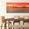 Panoramic Sunset Prints on Gallery-Wrapped Canvases