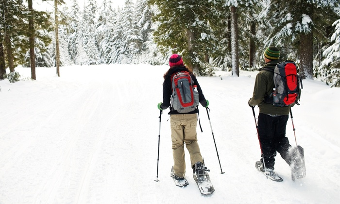 KLA Outdoor Adventures - Lakefront Park: Snowshoe Hiking Adventure for Two or Four from KLA Outdoor Adventures (Up to 51% Off)