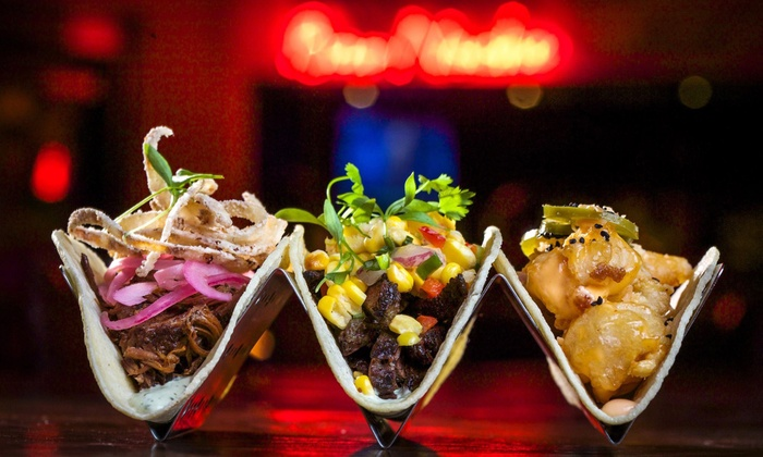 Naked Taco - Miami Beach: New Year's Eve Dinner and Rooftop-Party Package with or Without Veuve Clicquot at Naked Taco (Up to 51% Off)