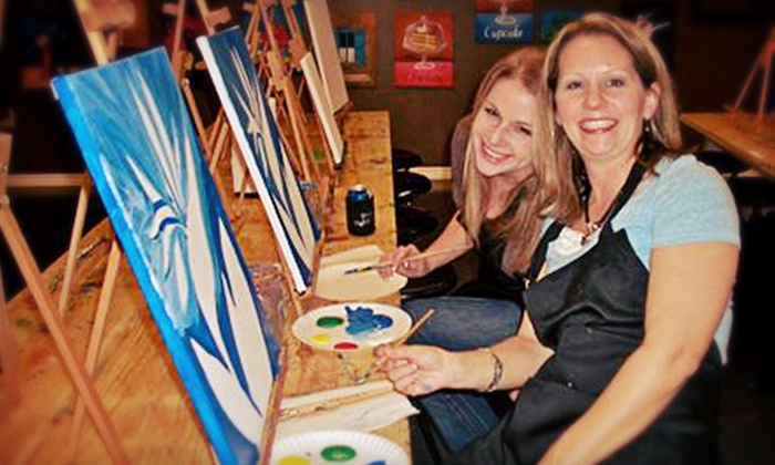 Paint Until You Faint - Katy-Sugarland, Richmond: Two- or Three-Hour BYOB Painting Class for One or Two at Paint Until You Faint (Up to 53% Off)