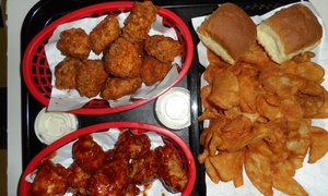 Wing Town- Irving: Dine-In for Two or Four or Delivery from Wing Town- Irving (Up to 51% Off)