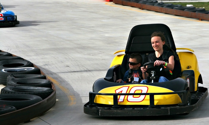 Karttrak Go Karts - Caswell Hill: Four or Eight Five-Minute Rides in a Wildcat Go-Kart at Karttrack Go Karts (Up to 55% Off)