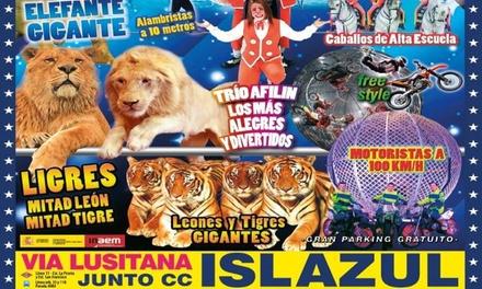 """Entrada al espectáculo """"Circo Quirós"""" del 31 de enero al 16 de febrero en Madrid (hasta 60% de descuento)"""