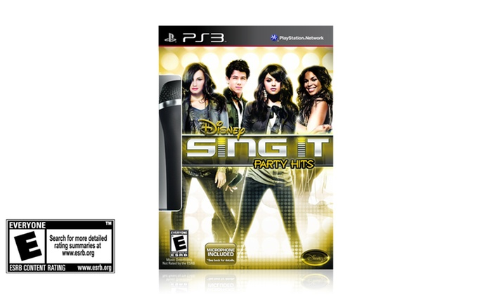 Disney Sing It with Mic for PS3: Disney Sing It with Mic for PS3. Free Shipping and Returns.