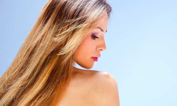 Luxe Salon & Spa - Downtown Waxahachie: Haircut and Style with Optional All-Over Color or Partial or Full Highlights at Luxe Salon & Spa (Up to 65% Off)