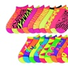 10-Pair Pack of Women's Animal Print & Fruity Mix It Up Socks