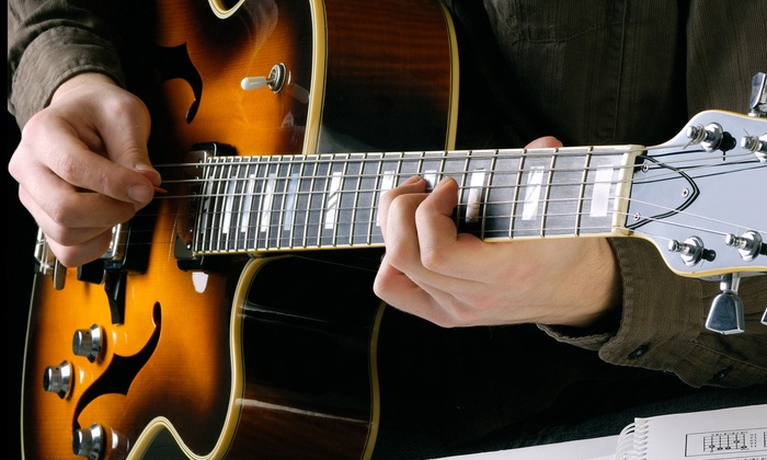 Klash Drums - Marshall Terrace: Four or Six Half-Hour Private Guitar Lessons at Klash Drums (Up to 59% Off)