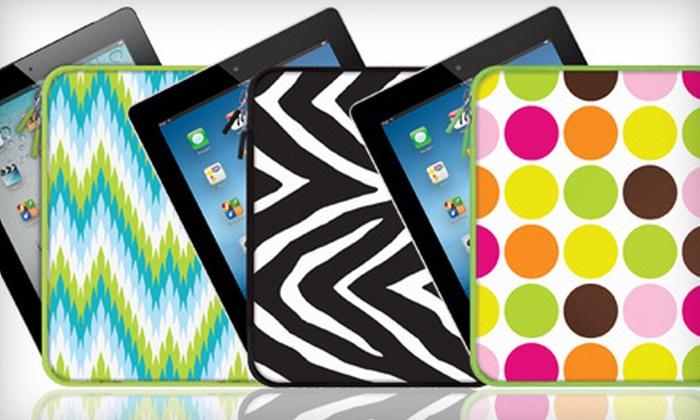 iPad Portfolio Case: $15 for an iPad Portfolio Case ($29.99 Value). Shipping Included. Three Designs Available.