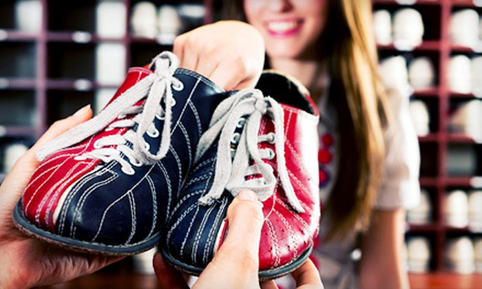 Lynnwood Bowl and Skate - Downtown Lynnwood: $20 for One Hour of Bowling for Two with Shoes, Appetizer, and Drinks at Lynnwood Bowl and Skate (Up to $46.95 Value)