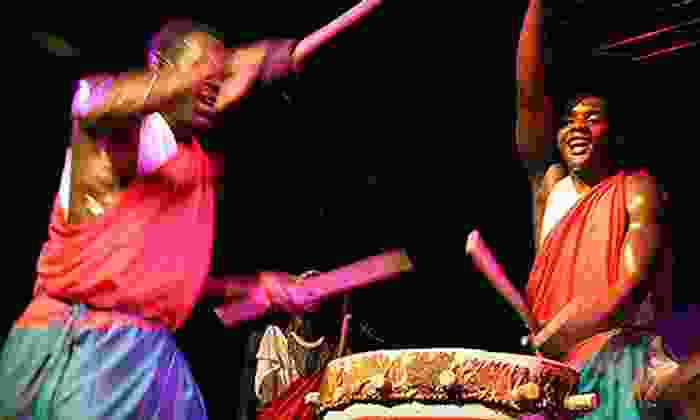 Royal Drummers and Dancers of Burundi - Downtown: Royal Drummers and Dancers of Burundi for Two at Music Hall Center for the Performing Arts on Saturday, November 3
