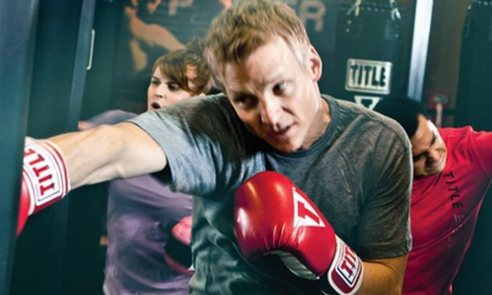 Title Boxing Club – Naperville - Multiple Locations: One Month or Two Weeks of Boxing or Kickboxing Classes at Title Boxing Club – Naperville (62% Off)
