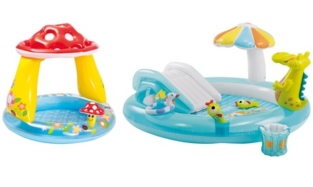 Intex Baby Mushroom or Gator Inflatable Pool