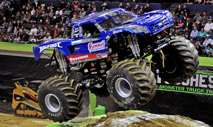 O'Reilly Auto Parts Toughest Monster Truck Tour - H-E-B Center at Cedar Park: $18 for a Ticket to the Toughest Monster Truck Tour at Cedar Park Center on August 14 or 15 ($31.80 Value)