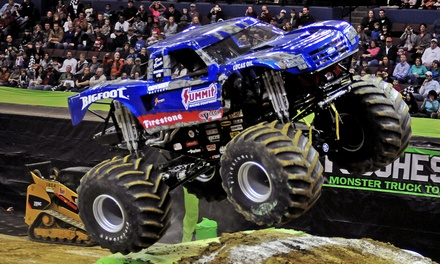 $19 for One Ticket to the Toughest Monster Truck Tour at Cedar Park Center on August 22 ($31.57 Value)