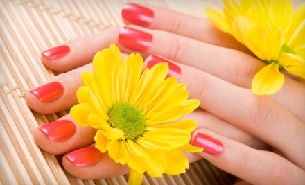 Shellac or Gel Polish Manicure (a $30 value) - Fancy Nails in Sacramento