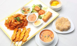 Jasmine Thai Cuisine - Porter Ranch: Thai Food and Drinks at Jasmine Thai Cuisine in Porter Ranch (Up to 40% Off). Two Options Available.