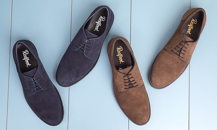 Redfoot Water-Resistant Suede Desert Shoes