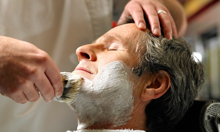 Men's Spa Packages at Alleyne's Grooming For Men (Up to 53% Off). Three Options Available.