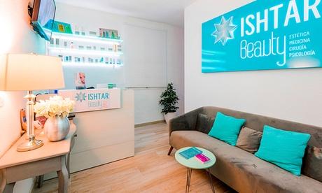 Sesión de masaje relajante de 40 minutos con opción a craneosacral o masaje de pies en Ishtar Beauty Clinic