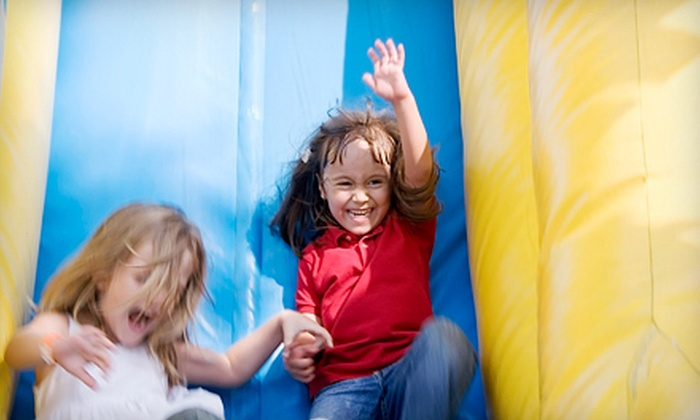 Jump Trax - Sharon: 5, 10, or 15 Indoor-Bounce-House Visits at Jump Trax in Sharon (Up to 67% Off)