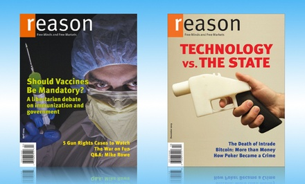 Reason Magazine One-Year Subscription (11 Issues)