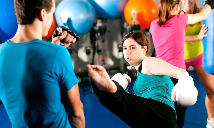 Turbokick (Indy Shape Fitness Studio) - I65-South Emerson: Three or Five Turbo Kick Classes with Jenny Aikman at Indy Shape Fitness Studio (50% Off)