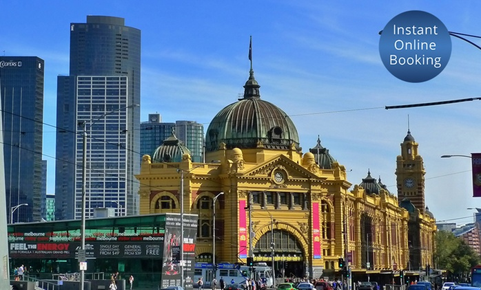 Melbourne, CBD: 1N in a Deluxe Queen or 1-3N in a Premium Courtyard Room w/ Sparkling Wine + Late Checkout, Jasper Hotel