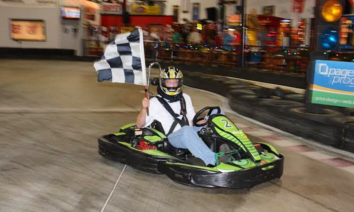 Rush Hour Karting - Rush Hour Karting: $19 for Two Eight-Minute Arrive & Drive Go-Kart Races at RushHour Karting ($40 Value)