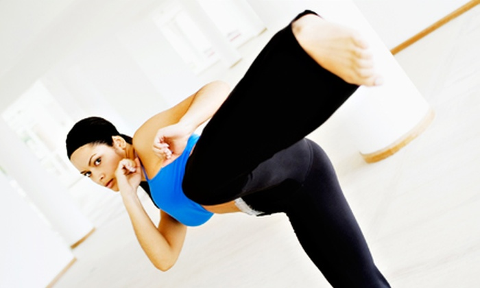 MMAXOUT Fitness - Multiple Locations: 8 or 16 Drop-In Classes at MMAXOUT Fitness (Up to 83% Off)